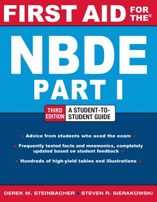 First Aid for the NBDE By Steinbacher, Derek/ Sierakowski, Steven